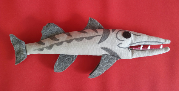 Stuffed Thaddeus Barracuda